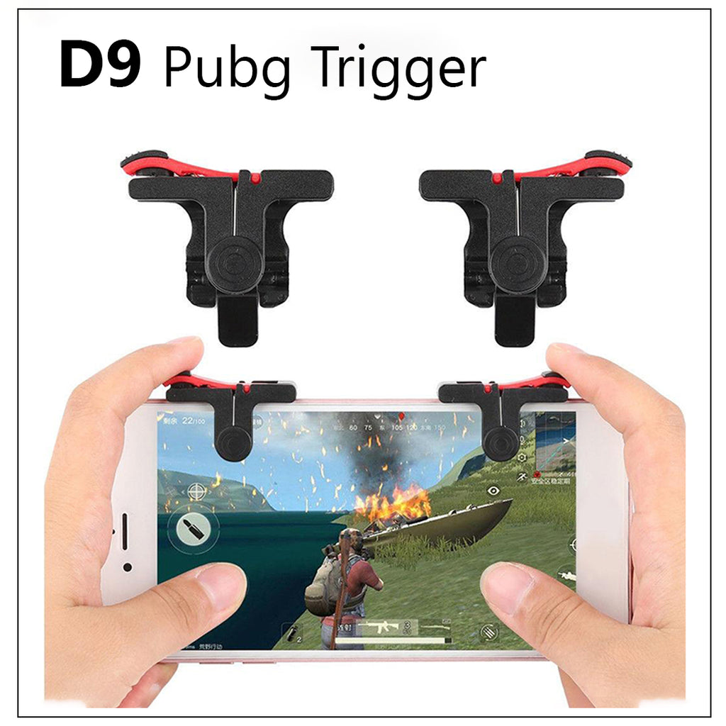 D9 PUBG Mobile Game Controller Gamepad Trigger