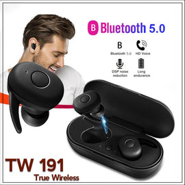 Airods-2  TWS-191 True wireless Bluetooth 5.0 Earbuds mini twins, Gaming earphone
