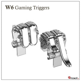 W6 Mobile Gaming Double Key Metal Trigger