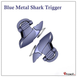 Blue Metal shark Mobile PUBG Fire Trigger