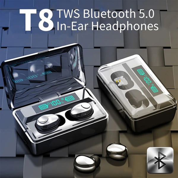 New JBL TWS-T8 Wireless Earbuds