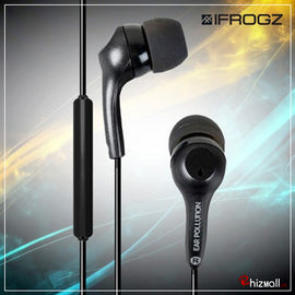Ifrogz EarPollution Plugz Earbuds