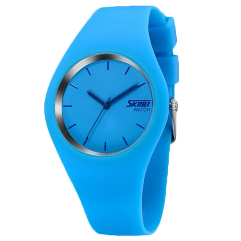 Student Silicone Jelly Watch For Girls - RHIZMALL.PK Online Shopping Store.