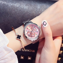 GIMTO Small Brand Rose Gold Women Watch - RHIZMALL.PK Online Shopping Store.