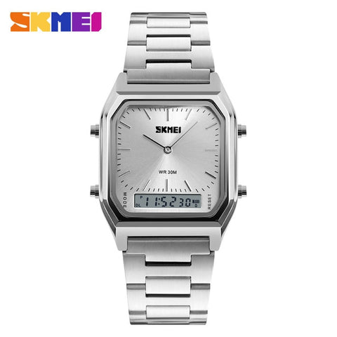 SKMEI Men Fashion Casual Quartz Wristwatches - RHIZMALL.PK Online Shopping Store.