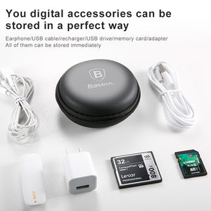 Baseus Portable Mobile Phone Accessories Storage - RHIZMALL.PK Online Shopping Store.