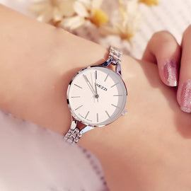 Women Waterproof Stainless Steel Quartz Watch - RHIZMALL.PK Online Shopping Store.