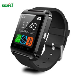 Ssdfly Hot Bluetooth Smart Watch U8 Wrist Watch for For IPhone And Android - RHIZMALL.PK Online Shopping Store.
