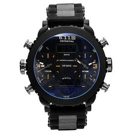 Big Black Led Digital Sport Watch Men - RHIZMALL.PK Online Shopping Store.