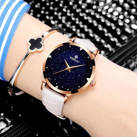 Moon Design Leather Belt Watch - RHIZMALL.PK Online Shopping Store.