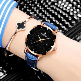 Leather Belt Bracelets Quartz Watch For Women. - RHIZMALL.PK Online Shopping Store.