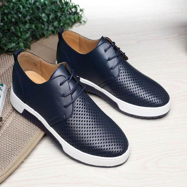 Leather Flat Shoes for Men