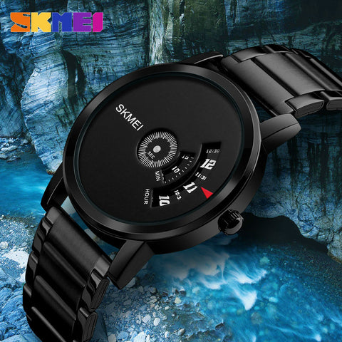 SKMEI Clock Steel Fashion Watch - RHIZMALL.PK Online Shopping Store.