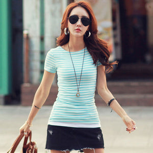 Classic Bottom T-shirts For Women - RHIZMALL.PK Online Shopping Store.