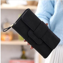 Purse Wallet Card Holder Female Clutch Long Purse - RHIZMALL.PK Online Shopping Store.