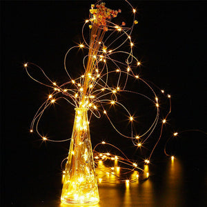 String Holiday Outdoor Fairy Lights For Party & Photography