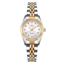 CHENXI Women Golden & Silver Classic Quartz Watch - RHIZMALL.PK Online Shopping Store.