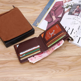 Modoker Genuine Leather Smart Wallet - RHIZMALL.PK Online Shopping Store.