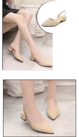 2019 Summer Buckle Slip on Flat Shoes - RHIZMALL.PK Online Shopping Store.