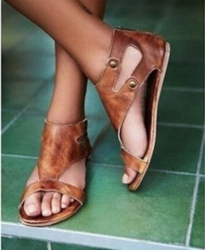 Flats Cork Gladiator Beach Shoes - RHIZMALL.PK Online Shopping Store.