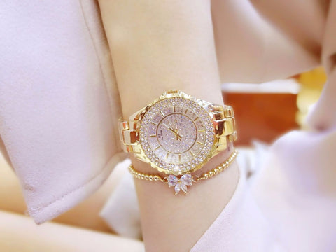 Branded Ladies Steel Watch - RHIZMALL.PK Online Shopping Store.