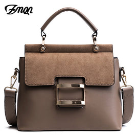 ZMQN 2018 Buckle PU Leather Handbag - RHIZMALL.PK Online Shopping Store.