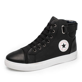 High Top Canvas Casual Shoes Patchwork - RHIZMALL.PK Online Shopping Store.