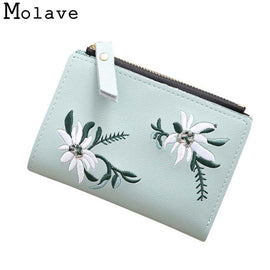 Female Floral Hasp Coin Purse Zipper Bag - RHIZMALL.PK Online Shopping Store.