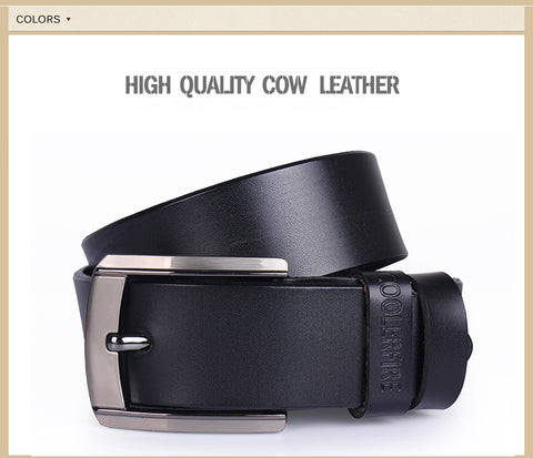 Genuine Leather Cowskin Strap Male Belt for man - RHIZMALL.PK Online Shopping Store.