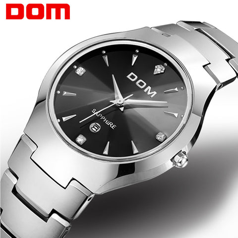 DOM sport Luxury steel Strap watch - RHIZMALL.PK Online Shopping Store.