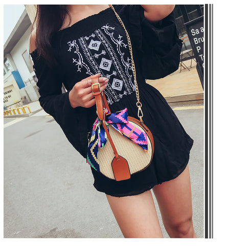 2018 Winter Rattan Woven Beach Shoulder Bags - RHIZMALL.PK Online Shopping Store.