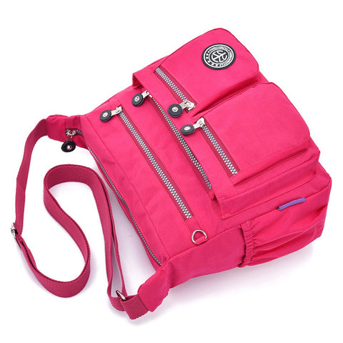 Waterproof Nylon Female Shoulder Bag - RHIZMALL.PK Online Shopping Store.