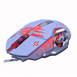 Gaming Mouse Mause DPI Adjustable  Computer Optical LED Game Mice - RHIZMALL.PK Online Shopping Store.