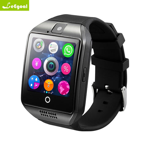 Leegoal Hybrid Smart Watch Phone Call, Message,Camera,Bluetooth For IOS Android Phone - RHIZMALL.PK Online Shopping Store.