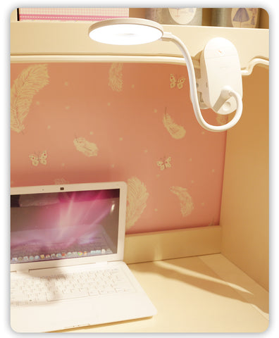 YAGE 18650 LED Touch On/off Switch 3 Modes Clip Desk Lamp - RHIZMALL.PK Online Shopping Store.