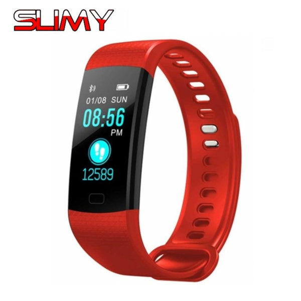 Slimy Smart Watch Fitness Tracker Smart Band Bracelet - RHIZMALL.PK Online Shopping Store.
