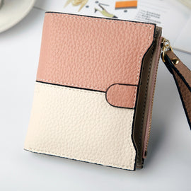 Women Color Combination Design Wallet - RHIZMALL.PK Online Shopping Store.