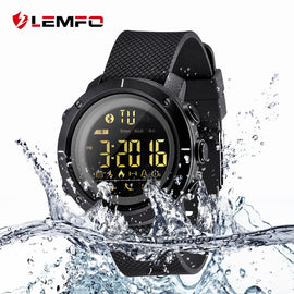LEMFO Meters Waterproof  Pedometer Smartwatch Message Remind Digital Watch for IOS Android Phone - RHIZMALL.PK Online Shopping Store.