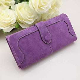 Female Rivet Long Wallet Women's Coin Purse - RHIZMALL.PK Online Shopping Store.