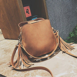 Three pockets Handbags Female Vintage Retro Shoulder Crossbody Bag - RHIZMALL.PK Online Shopping Store.