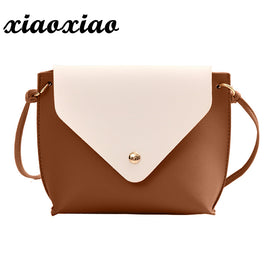 Women Leather Hit Color Shoulder Bag - RHIZMALL.PK Online Shopping Store.