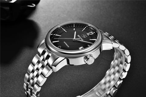 BENYAR Automatic Relogio Masculino Fashion Full steel Fashion Watch - RHIZMALL.PK Online Shopping Store.