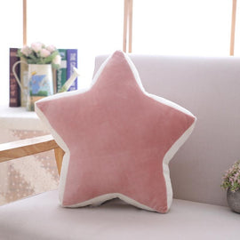 Soft Star moon rainbow pillow