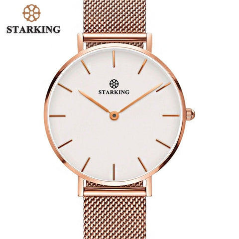 STARKING Emerald Mesh Fashion Ladies Watch - RHIZMALL.PK Online Shopping Store.