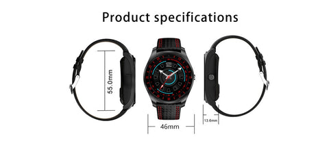 Beseneur Smart Watch with Camera Bluetooth for Android Phone - RHIZMALL.PK Online Shopping Store.
