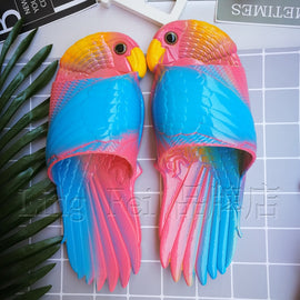 Summer Soft Creative Funny Parrot Slippers - RHIZMALL.PK Online Shopping Store.