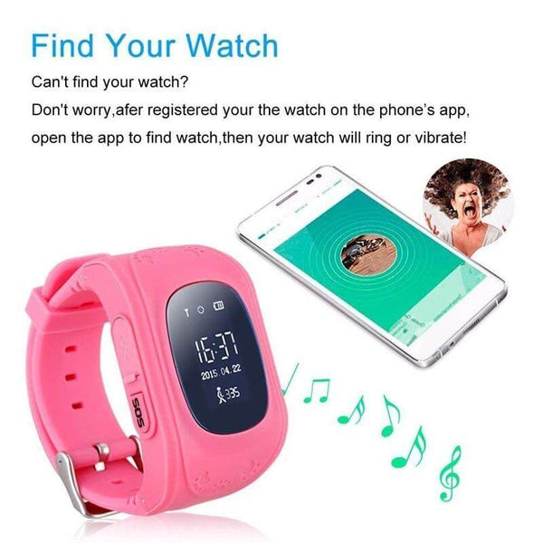 Rovtop Children Smart Watches for iOS Android