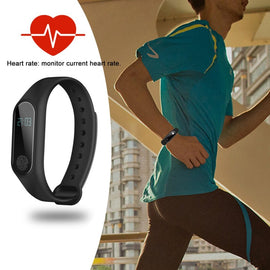 Smart Watch OLED Touch Screen Bracelet Fitness Tracker - RHIZMALL.PK Online Shopping Store.