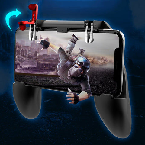 W10 Mobile Game Controller Fortnited Free Fire PUGB Gaming Pad - RHIZMALL.PK Online Shopping Store.