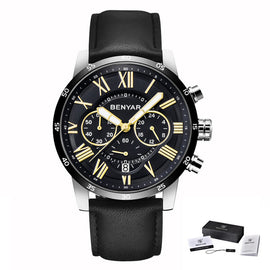 BENYAR Chronograph Sport Luxury Watch - RHIZMALL.PK Online Shopping Store.